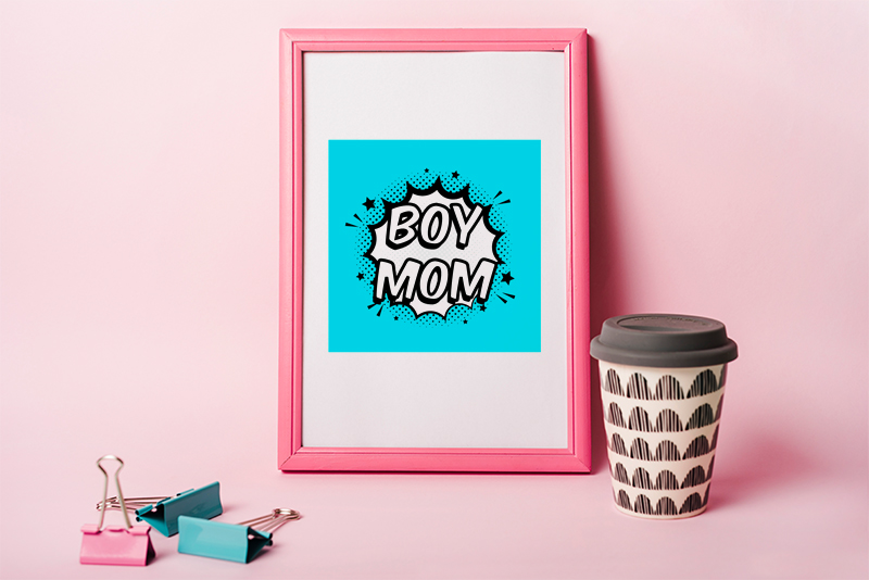 boy mom svg