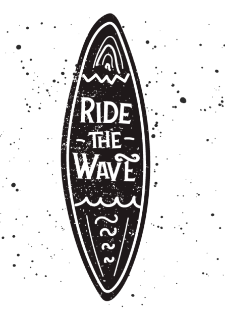 ride the wave svg