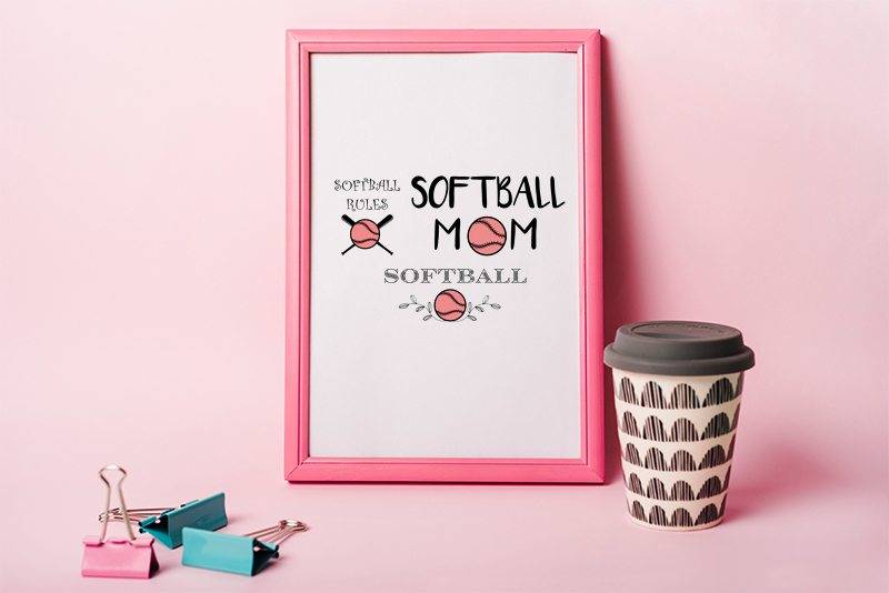 softball svg