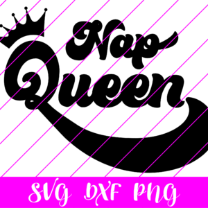 Nap Queen SVG