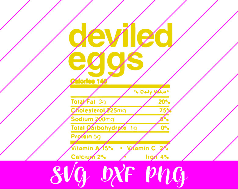 thanksgiving nutrition facts deviled eggs