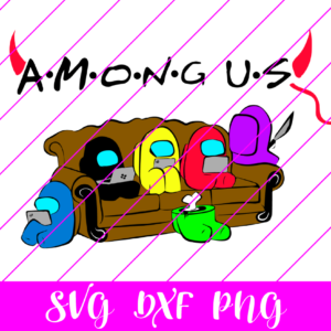 Among us Friends svg