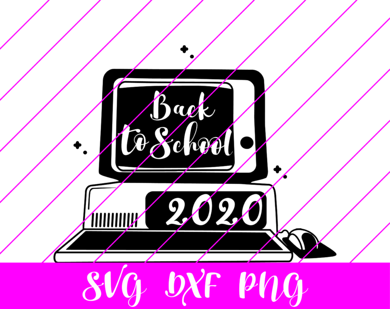back to school online svg