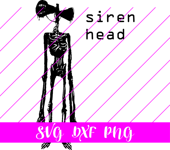 siren head svg